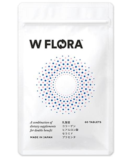 W FLORA ダブルフローラ 乳酸菌サプリ