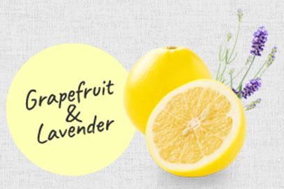 グレープフルーツとラベンダー やさしいオーガニックアロマの香り