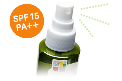 UV&アウトドアミスト SPF15 PA++