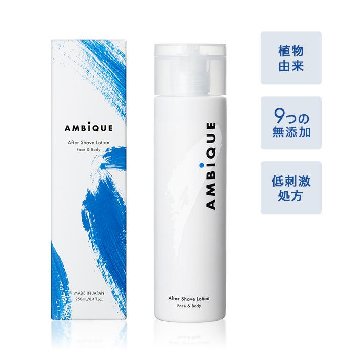 AMBiQUE(アンビーク)アフターシェーブシェーブローションクリームの商品写真