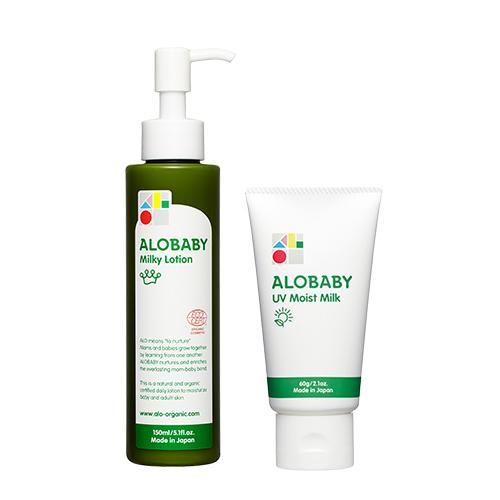 アロベビー ミルクローション&UVモイストの商品写真
