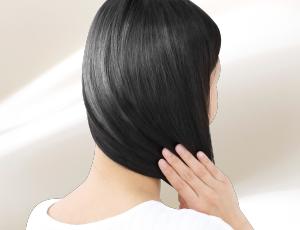 日本人の黒髪に着目