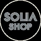SOLIA SHOP公式 SNSロゴ