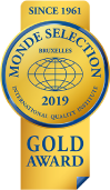 MONDE SELECTION 2019 GOLD AWARD