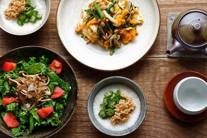 食事の改善(栄養の補給)