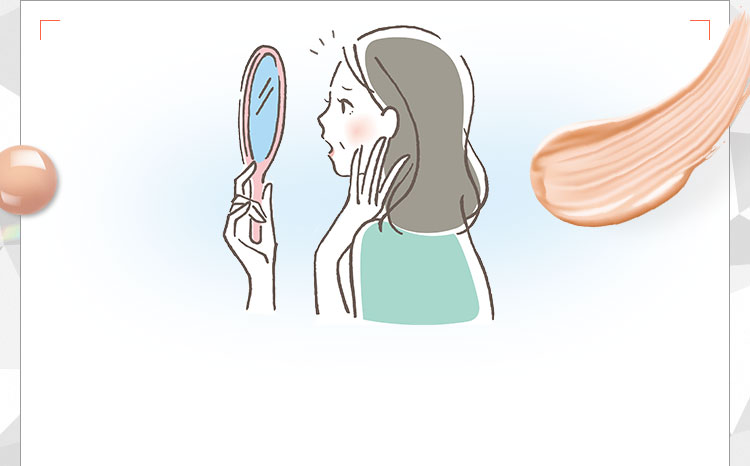 「ワタシ…こんな老けてたっけ??」ある日、鏡を見てガックリ…