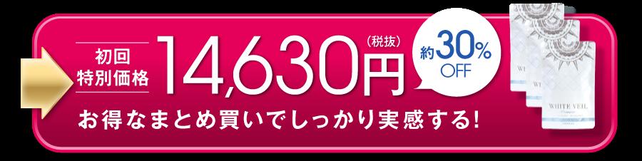 初回特別価格 14,630円 約30%OFF お得なまとめ買いでしっかり実感する!