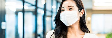 マスクの除菌・抗菌、花粉対策に