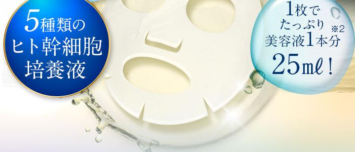 5種類のヒト幹細胞培養液