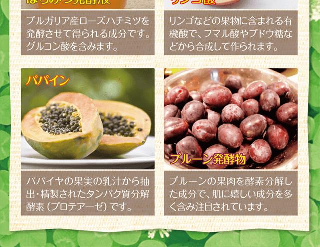 パパイン・プルーン発酵物