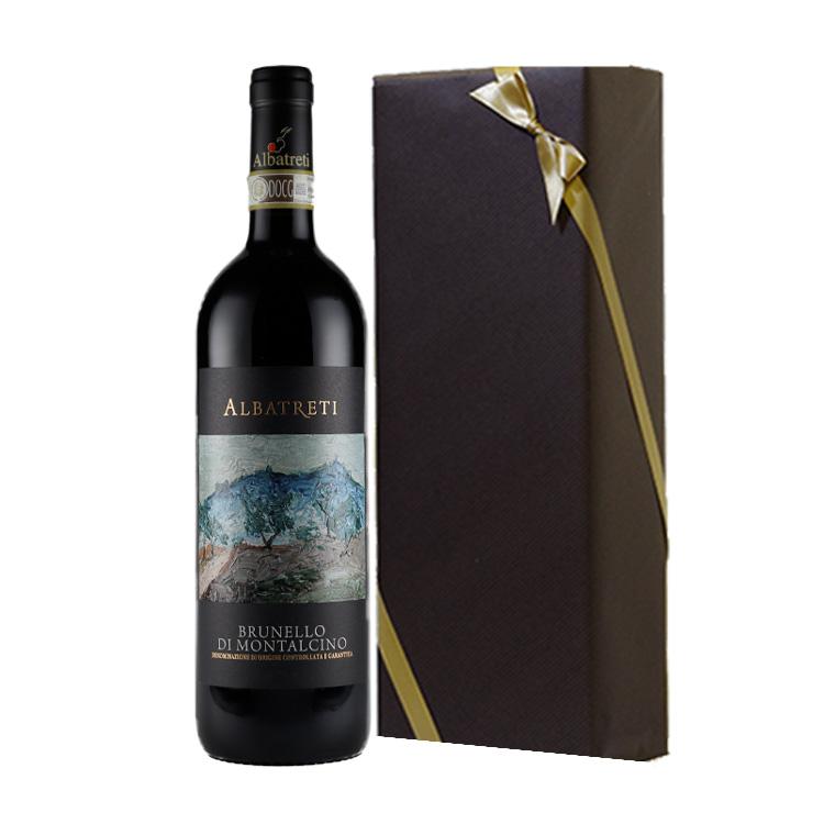 【大切な人に贈りたい高貴なブルネッロ】赤ワイン上級ギフト