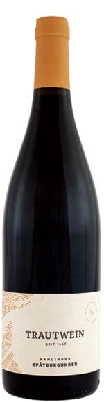 トラウトワイン シュペートブルグンダー