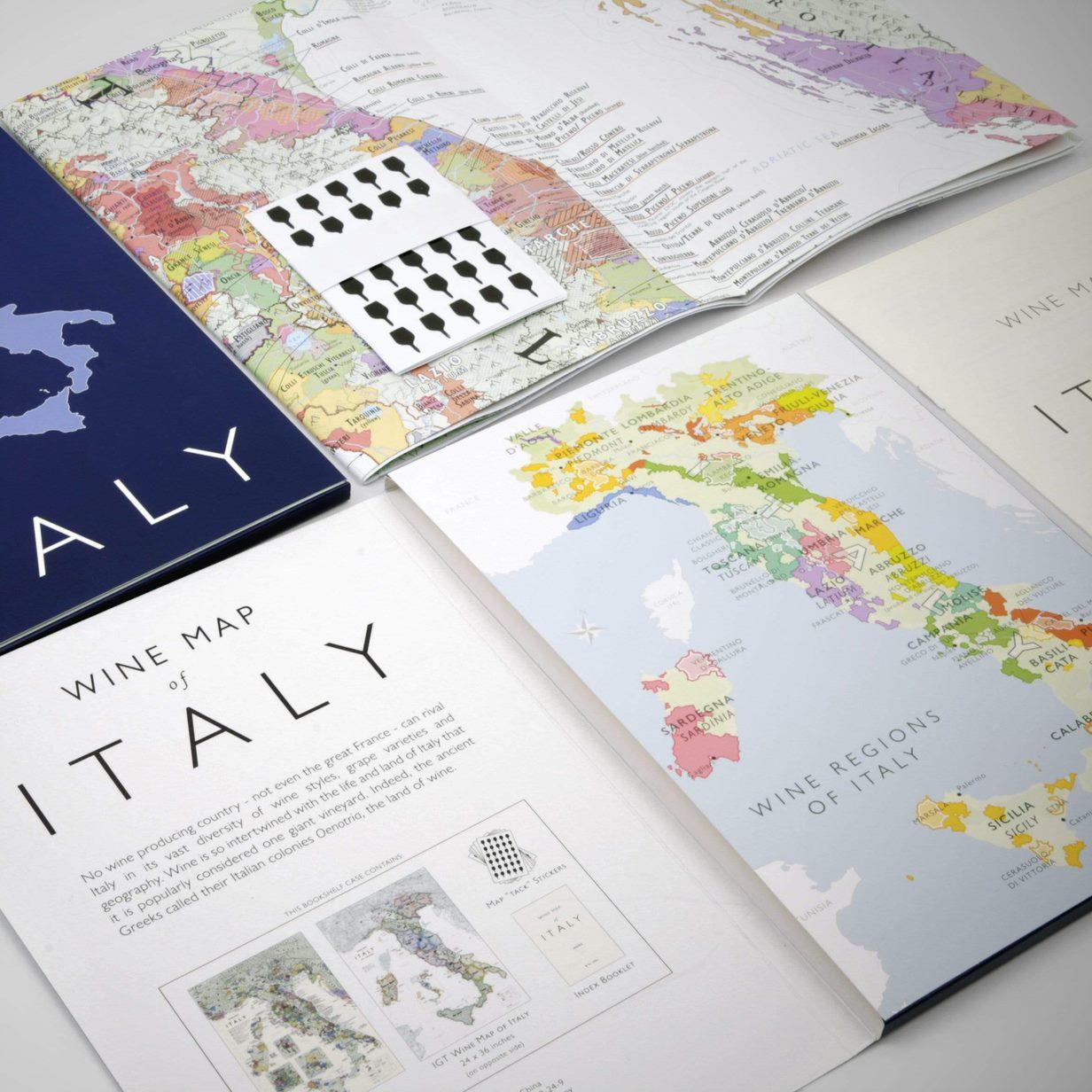 イタリアワインマップ