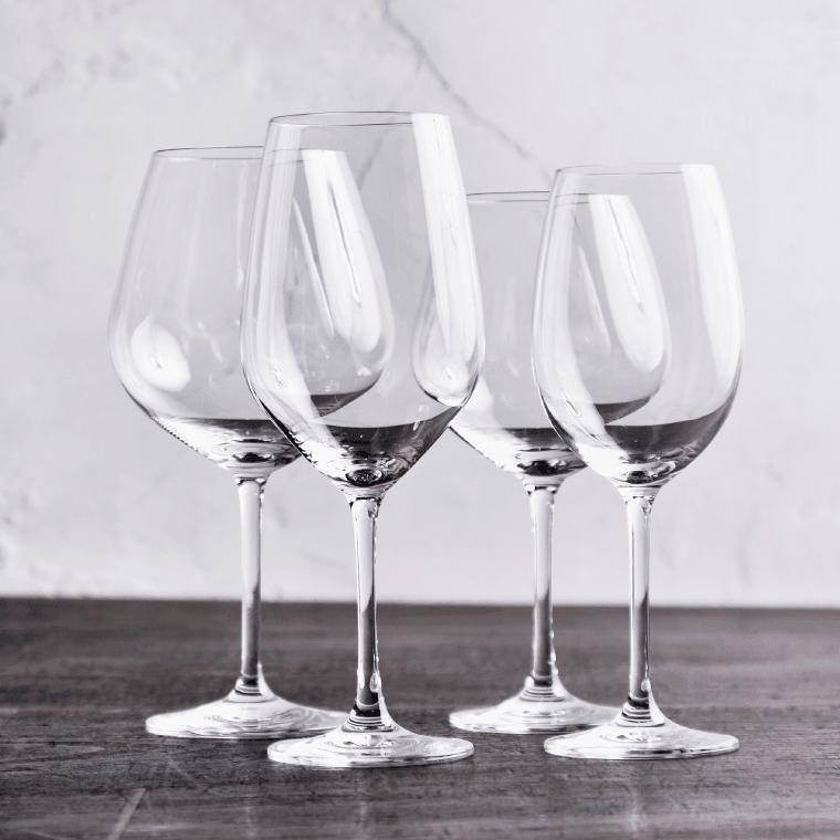 ワイングラス4種