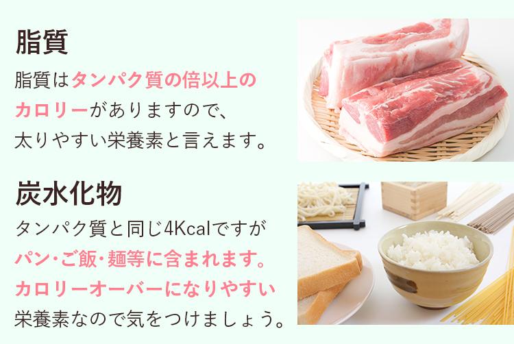 脂質・炭水化物