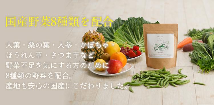 国産野菜8種類