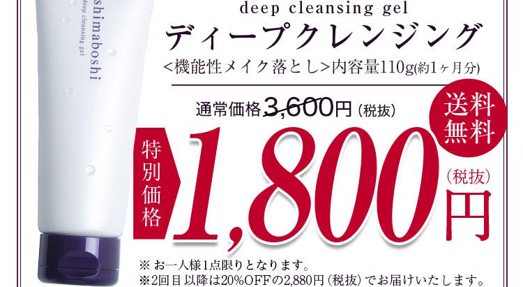 特別価格1,800円 送料無料