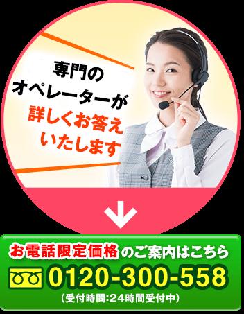 医薬品専門のオペレーターが詳しくお答えいたします お電話限定価格のご案内はこちら0120-300-588(受付時間:24時間受付中)