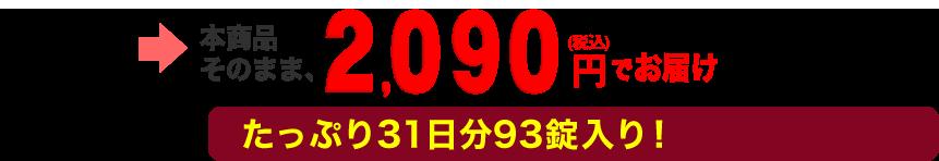 本商品そのまま、1900円(税抜)でお届け