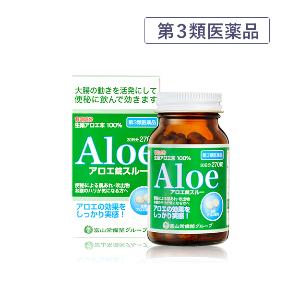 【第3類医薬品】アロエ錠スルー(ボトルタイプ270錠入り3,800円)