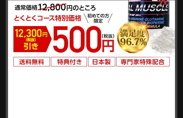 通常価格12,800円のところ とくとくコース特別価格初めての方限定12,300円(税抜き)引き500円(税抜き) 送料無料 特典付き 日本製 専門家特別特殊配合