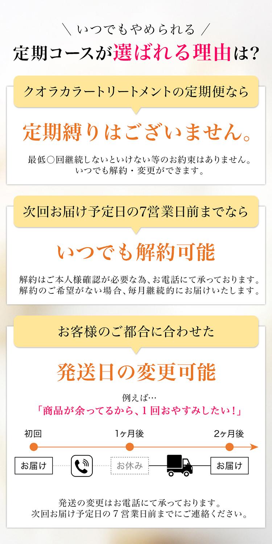 定期コースお届けサイクル詳細
