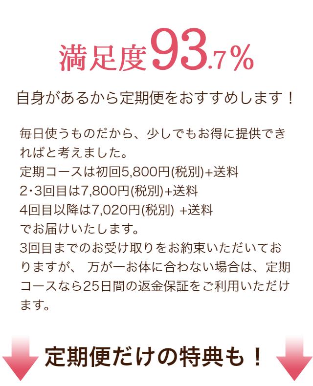 満足度93%