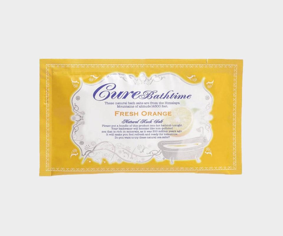 Cureバスタイム フレッシュオレンジの香り 20g